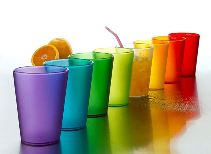 Picnic en el 4tob quiero y necesito - Vasos de colores ...