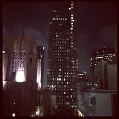 desde la terraza de Perch, lejos el mejor lugar en Downtown LA