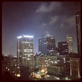 Vista desde Standard Rooftop bar